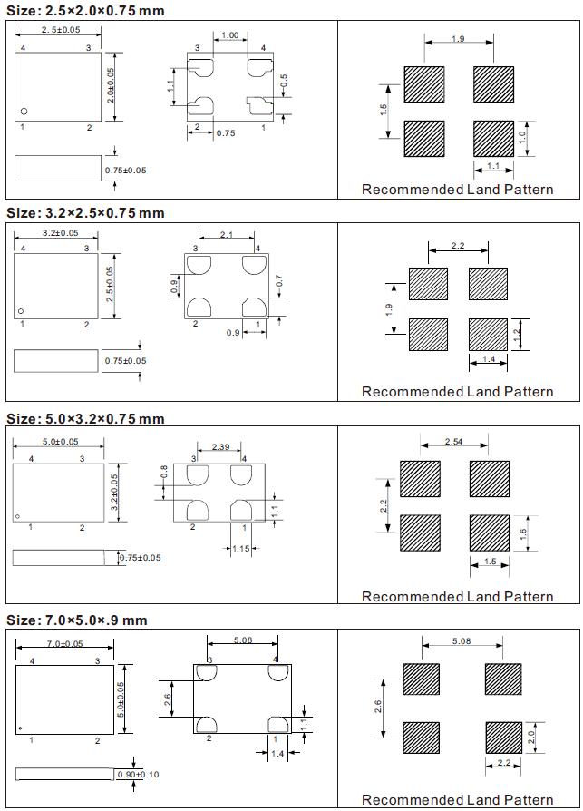 Dimemsions-SJK8209-Ultra-Performance-Oscillator